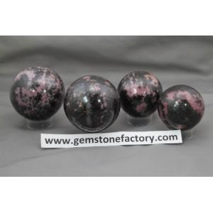 Rhodonite Spheres