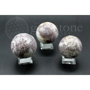 "Lepidolite ""B"" Spheres"