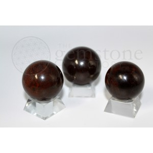 Premium Garnet Spheres
