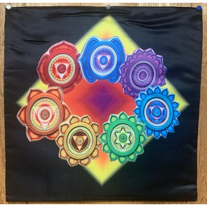 Decorative Throw Cover -Chakra