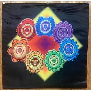 Decorative Throw Cover -Chakra