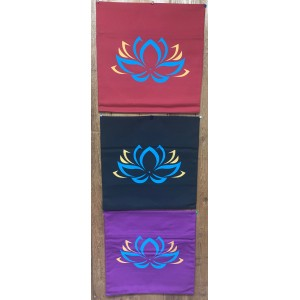 Decorative Throw Cover-Lotus Flower