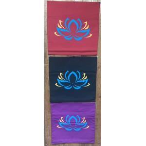Decorative Throw Cover-Lotus Flower