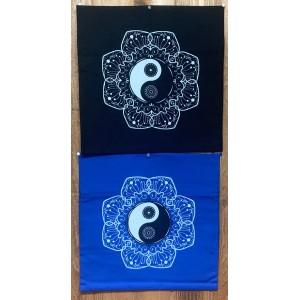 Decorative Throw Cover-Yin Yang
